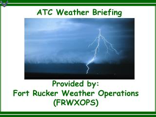ATC Weather Briefing
