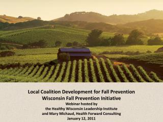 Coalition development for fall prevention