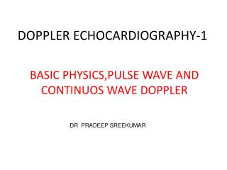 DOPPLER ECHOCARDIOGRAPHY-1