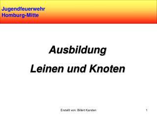 Jugendfeuerwehr Homburg-Mitte
