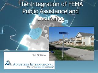 The Integration of FEMA Public Assistance and Insurance