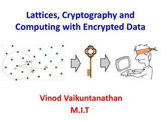 Lattices, Cryptography and  Computing with Encrypted Data