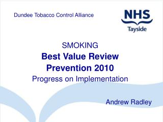 Dundee Tobacco Control Alliance
