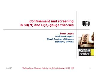 Confinement and screening in SU(N) and G(2) gauge theories