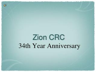Zion CRC