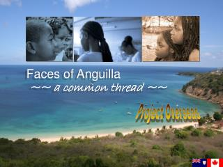 Faces of Anguilla  ~~ a common thread ~~