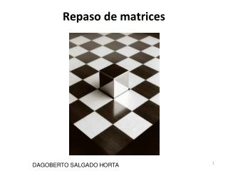 Repaso de matrices
