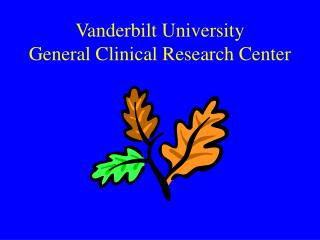 Vanderbilt University   General Clinical Research Center