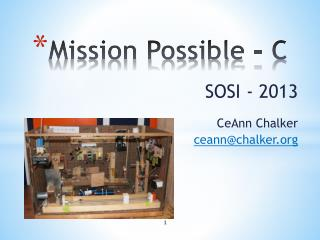 Mission Possible - C