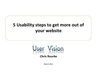 5 Usability steps to get more out of your website