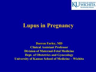 Lupus in Pregnancy