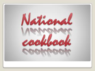 National  cookbook