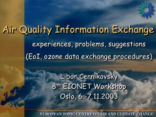 Air Quality Information Exchange