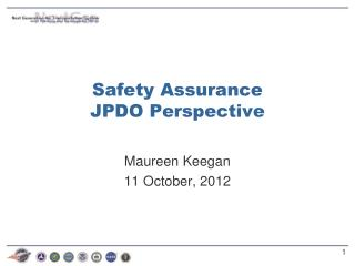 Safety Assurance JPDO Perspective