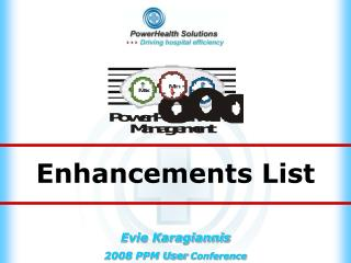 Enhancements List
