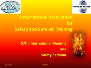 International Association  for Safety and Survival Training