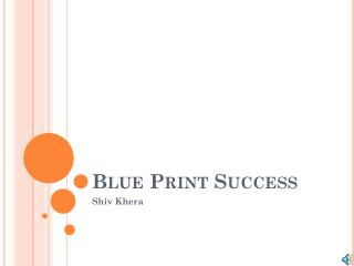Blue Print Success