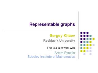 Representable graphs