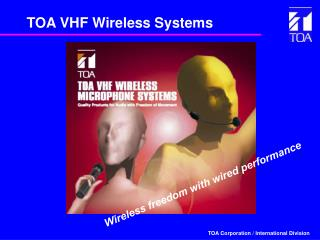 TOA VHF Wireless Systems