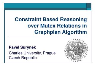 Constraint Based Reasoning over Mutex Relations in Graphplan Algorithm