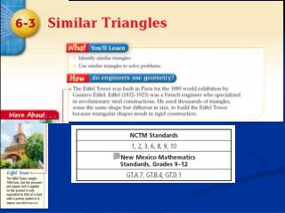Shortcuts to Triangle Similarity
