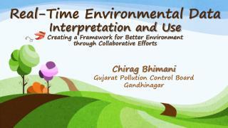 Chirag Bhimani Gujarat Pollution Control Board Gandhinagar