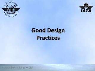 Good Design Practices