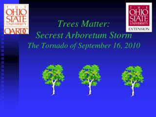 Trees Matter: Secrest Arboretum Storm  The Tornado of September 16, 2010