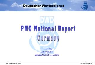 PMO National Report Germany