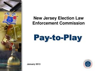 New Jersey Election Law Enforcement Commission