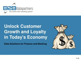 Unlock Customer  Growth and Loyalty in Today's Economy