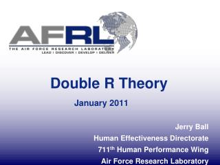 Double R Theory January 2011