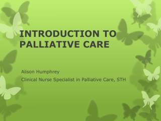 Psycho-social issues in Palliative Care