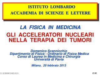 D. SCANNICCHIO 2013