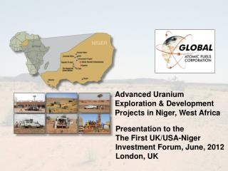 Advanced Uranium Exploration & Development Projects in Niger, West Africa