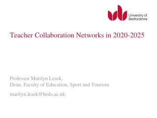 Teacher Collaboration Networks in 2020-2025