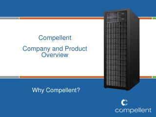 Compellent Company and Product Overview