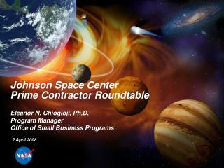 Johnson Space Center Prime Contractor Roundtable