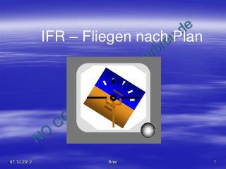IFR – Fliegen nach Plan