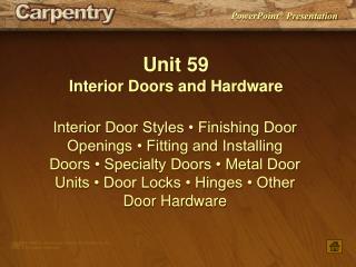 Unit 59