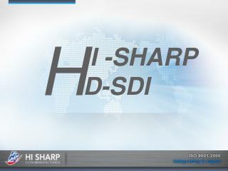 I -SHARP D-SDI