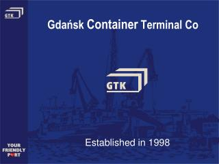 Gdańsk  Container  Terminal Co