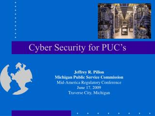 Cyber Security for PUC's