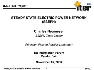 STEADY STATE ELECTRIC POWER NETWORK (SSEPN)
