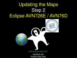 Updating the Maps Step 2 Eclipse AVN726E / AVN76D