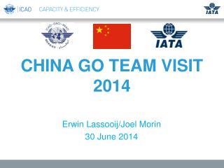 CHINA GO TEAM VISIT 2014