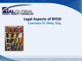 Legal Aspects of BYOD