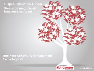 4.  quality austria  Forum