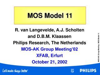 MOS Model 11