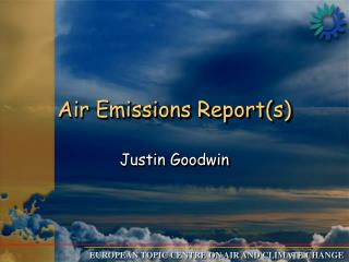 Air Emissions Report(s)